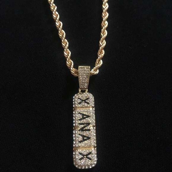 Jewelry Iced Out Xanax Chain Poshmark
